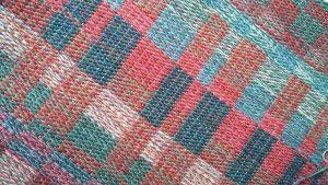 block weave rug